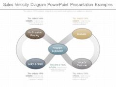 Sales Velocity Diagram Powerpoint Presentation Examples