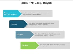 Sales Win Loss Analysis Ppt PowerPoint Presentation Styles Grid Cpb