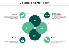 Salesforce Contact Form Ppt Powerpoint Presentation Show Tips Cpb