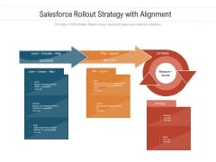 Salesforce Rollout Strategy With Alignment Ppt PowerPoint Presentation Infographics Slideshow PDF