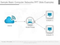 Sample Basic Computer Networks Ppt Slide Examples