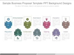 Sample Business Proposal Template Ppt Background Designs