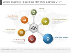 Sample Business To Business Marketing Example Of Ppt