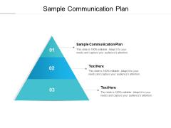 Sample Communication Plan Ppt PowerPoint Presentation Layouts Portrait Cpb