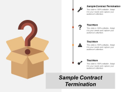 Sample Contract Termination Ppt PowerPoint Presentation Icon Template Cpb