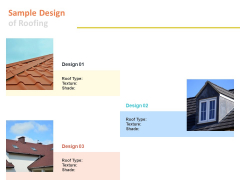 Sample Design Of Roofing Ppt PowerPoint Presentation Professional Master Slide