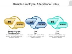Sample Employee Attendance Policy Ppt PowerPoint Presentation Portfolio Slides Cpb Pdf