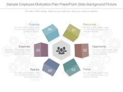Sample Employee Motivation Plan Powerpoint Slide Background Picture