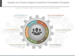 Sample Hrm Practice Diagram Powerpoint Presentation Templates
