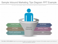 Sample Inbound Marketing Tips Diagram Ppt Example