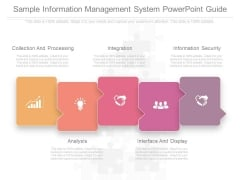 Sample Information Management System Powerpoint Guide