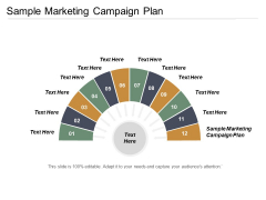 Sample Marketing Campaign Plan Ppt PowerPoint Presentation Model Icon Cpb
