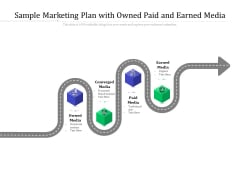 Sample Marketing Plan With Owned Paid And Earned Media Ppt PowerPoint Presentation Pictures Images PDF