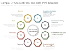 Sample Of Account Plan Template Ppt Samples