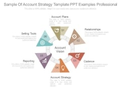 Sample Of Account Strategy Template Ppt Examples Professional