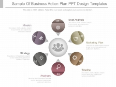Sample Of Business Action Plan Ppt Design Templates