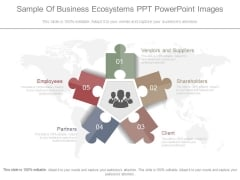 Sample Of Business Ecosystems Powerpoint Images
