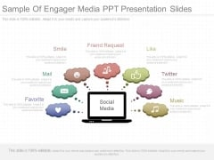 Sample Of Engager Media Ppt Presentation Slides