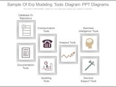 Sample Of Erp Modeling Tools Diagram Ppt Diagrams