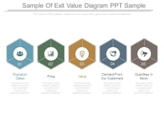 Sample Of Exit Value Diagram Ppt Sample