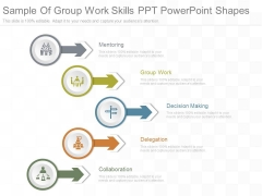 Sample Of Group Work Skills Ppt Powerpoint Shapes