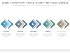 Sample Of Information Filtering Template Presentation Examples