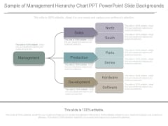 Sample Of Management Hierarchy Chart Ppt Powerpoint Slide Backgrounds