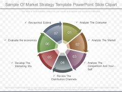 Sample Of Market Strategy Template Powerpoint Slide Clipart
