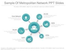 Sample Of Metropolitan Network Ppt Slides