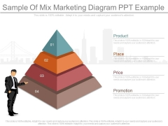 Sample Of Mix Marketing Diagram Ppt Example
