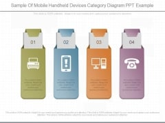 Sample Of Mobile Handheld Devices Category Diagram Ppt Example