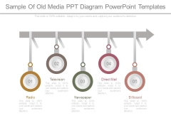 Sample Of Old Media Ppt Diagram Powerpoint Templates