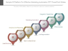 Sample Of Platform For Effective Marketing Automation Ppt Powerpoint Slides