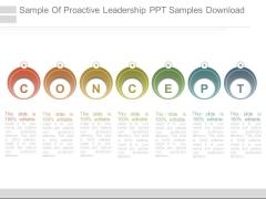 Sample Of Proactive Leadership Ppt Samples Download