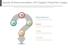 Sample Of Recommendations Ppt Diagram Powerpoint Images