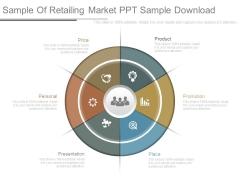 Sample Of Retailing Market Ppt Sample Download