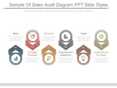 Sample Of Sales Audit Diagram Ppt Slide Styles