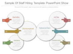 Sample Of Staff Hiring Template Powerpoint Show