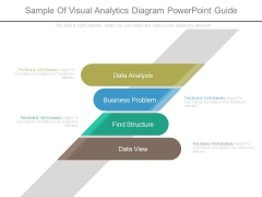 Sample Of Visual Analytics Diagram Powerpoint Guide