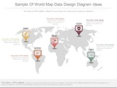 Sample Of World Map Data Design Diagram Ideas