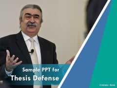 Sample PPT For Thesis Defense Ppt PowerPoint Presentation Complete Deck With Slides