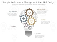 Sample Performance Management Plan Ppt Design