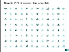 Sample Ppt Business Plan Icon Slide Ppt PowerPoint Presentation Styles Demonstration