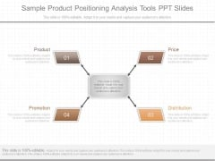 Sample Product Positioning Analysis Tools Ppt Slides