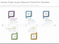 Sample Project Scope Statement Powerpoint Templates