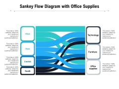 Sankey Flow Diagram With Office Supplies Ppt PowerPoint Presentation Infographics Example PDF