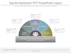 Sap Bi Dashboard Ppt Powerpoint Layout