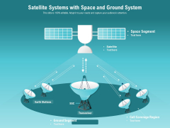 Satellite Systems With Space And Ground System Ppt PowerPoint Presentation Gallery Graphics Download PDF