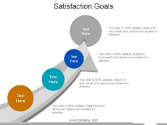 Satisfaction Goals Ppt PowerPoint Presentation Icon Template