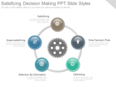 Satisficing Decision Making Ppt Slide Styles